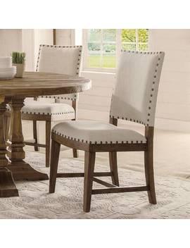 Keil Souleymane Breadboard Solid Wood Dining Table by Gracie Oaks