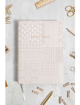 Central 23 Pink Bandana Daily Planner by Urban Outfitters