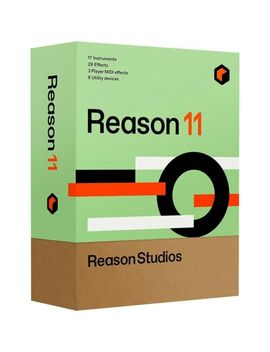 Propellerhead Upgrade To Reason 11 For Intro/Essentials/Adapted/Ltd/Lite Owners by Reason Studios