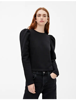 Sweat Basique Manches Bouffantes by Pull & Bear