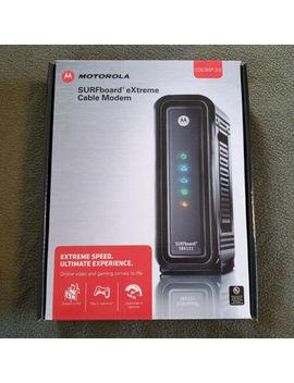 Motorola Sur Fboard E Xtreme Cable Modem Sb6121 Docsis 3.0 Plus Power Adapter by Motorola