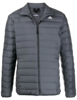 Contrast Logo Padded Jacket by Adidas