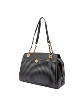 Ladies Black Parker Carryall With Quilting by Coach