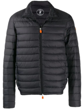 Zipped Padded Jacket by Save The Duck