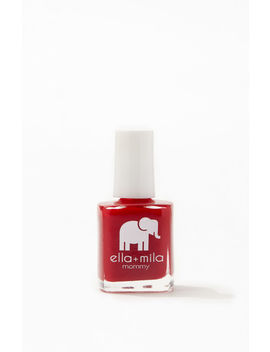 Ella + Mila Paint The Town Red Nail Polish by Pacsun