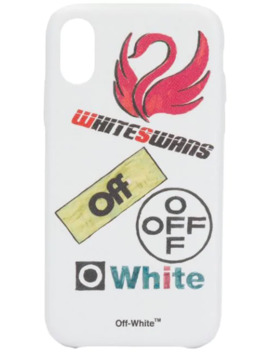 White Swans I Phone Xr Case by Off White