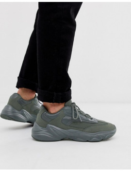 Asos Design Trainers In Grey With Chunky Sole by Asos Design