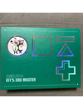 Used Bts Official 3 Rd Muster Korean Version Dvd Rare Limited F/S 373 by Ebay Seller
