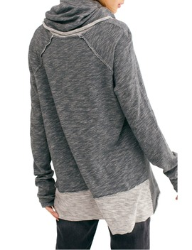 Cowl Neck Cocoon Pullover by Free People