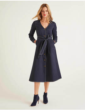 Isabel Stitch Detail Dress by Boden