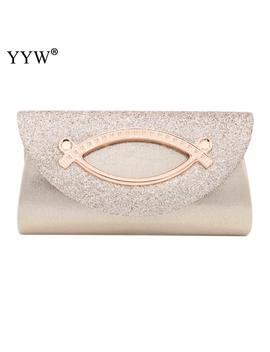 Women Evening Clutch Bag Diamond Sequin Clutch Female Crystal Day Clutch Wedding Purse Party Banquet Black Gold Silver Clutches by Ali Express.Com