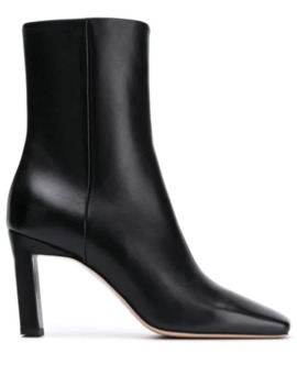 Isa Square Toe Boots by Wandler