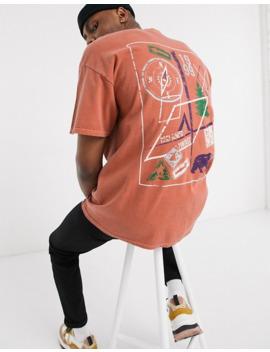 Reclaimed Vintage Back Print Tshirt by Reclaimed Vintage Inspired