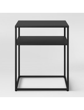 Glasgow Metal End Table Black   Project 62™ by Shop This Collection