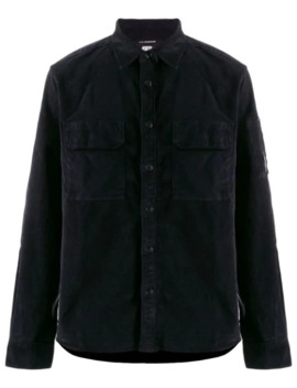 Corduroy Relaxed Fit Shirt by Cp Company