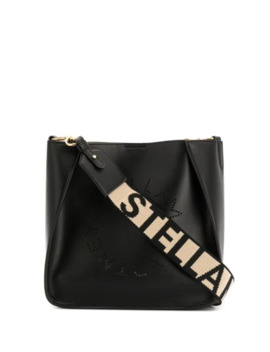 Stella Logo Perforated Shoulder Bag by Stella Mc Cartney
