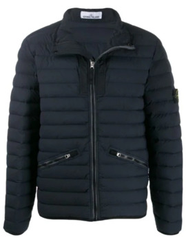 43825 Loom Woven Padded Jacket by Stone Island