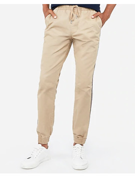 Stripe Side Tape Jogger Pant by Express