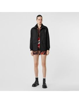 Horseferry Print Lightweight Funnel Neck Jacket by Burberry