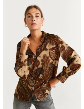 Camicia Stampa Paisley by Mango