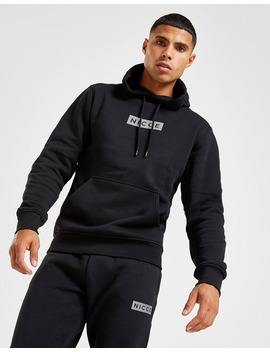 Nicce Base Overhead Reflective Logo Hoodie by Nicce