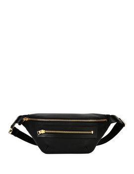 Men's Leather Belt Bag by Tom Ford