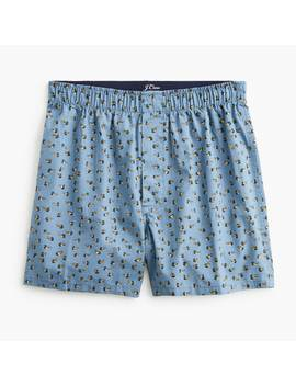 Boxers In Duck Print by J.Crew