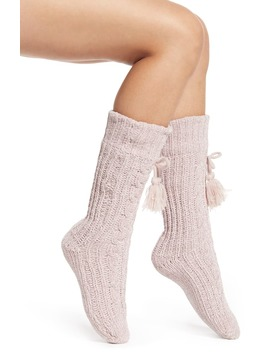 Cozy Cable Knit Socks by Rachel Parcell