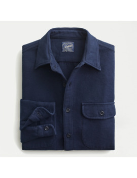 Tall Heavyweight Chamois Workshirt by J.Crew
