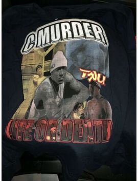 Vintage Y2 K C Murder Rap Tee No Limit Records Master P Bootleg 2pac by Aaa