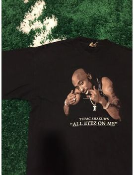Vintage Tupac T Shirt All Eyez On Me Rap Tee Xl 2pac Biggie Jay Z by Cronies