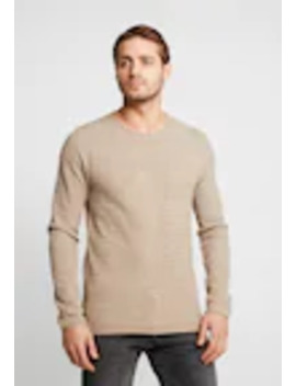 Slhrocky Crew Neck   Trui by Selected Homme