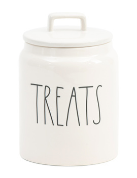 Fat Treats Canister by Tj Maxx