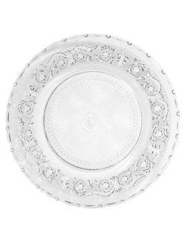 Glass Serving Plate   Classica by Maisons Du Monde