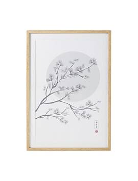 Blossoming Tree Print Wall Art 63x93   Osaka by Maisons Du Monde