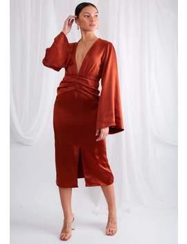 Isidora Kimono Dress by Pretty Lavish