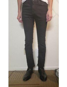 Levis 513 Skinny Straight Stretch Denim Black Jeans 29 X 30 by Levi's