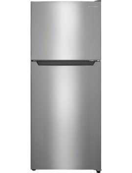 10.5 Cu. Ft. Top Freezer Refrigerator   Stainless Steel by Insignia™