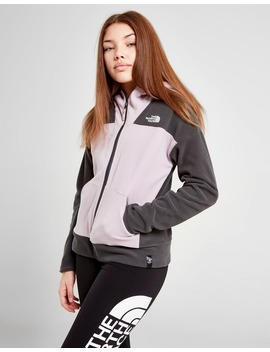 The North Face Girls' Glacier Polar Fleece Full Zip Hoodie Junior by The North Face