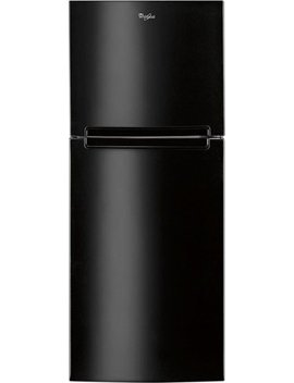 10.6 Cu. Ft. Frost Free Top Freezer Refrigerator   Black by Whirlpool