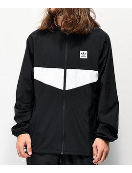 Adidas Dekum Packable Black Windbreaker Jacket by Adidas