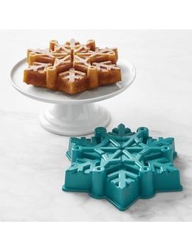 Disney Frozen 2™ Nordic Ware Frozen Snowflake Cake Pan by Williams   Sonoma