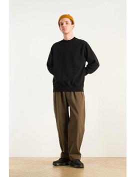 Menswear   Heavy Sweatshirt, Black by Olive