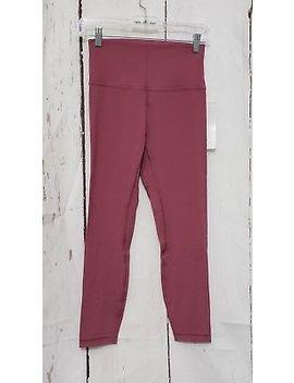 """Lululemon Align Pant Ii *25"""" So Merlot Pink Size 6 New by Ebay Seller"""