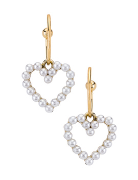 Heart Of Pearl Hoop by Shashi