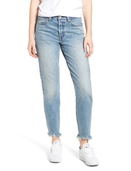 Wedgie Icon Fit Raw Hem Jeans by Levi's®