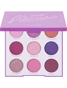 Online Only It's My Pleasure Pressed Powder Palette by Colour Pop