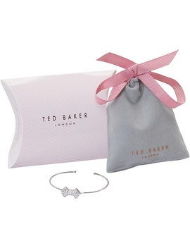 Ted Baker Womens Pave Bow Cuff Tbc by Ted Baker