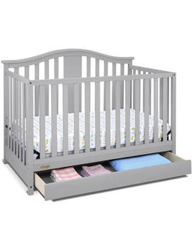 Graco Solano 4 In 1 Convertible Crib With Drawer White by Graco