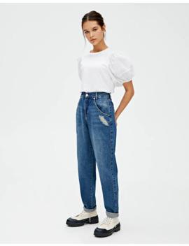 Jeans Slouchy Básicas by Pull & Bear